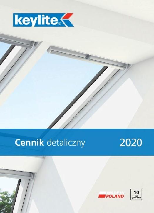 Cennik okien dachowych