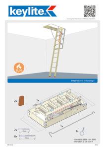 Instrukcja montażu schodów ognioodpornych KYL FRES