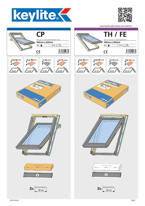 Instrukcja montażu okna CP-TH-FE