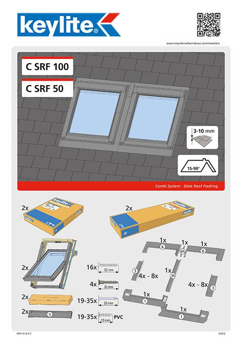 Instrukcja montażu CSRF 100 50