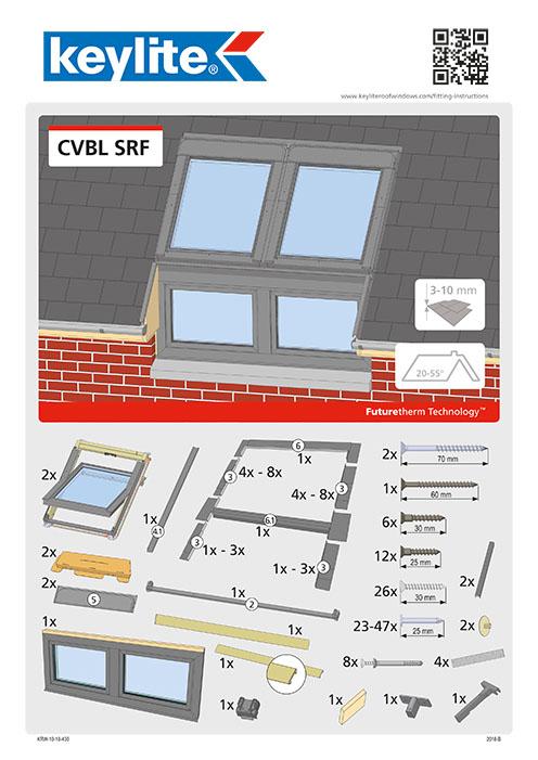 Instrukcja montażu CVBL-SRF