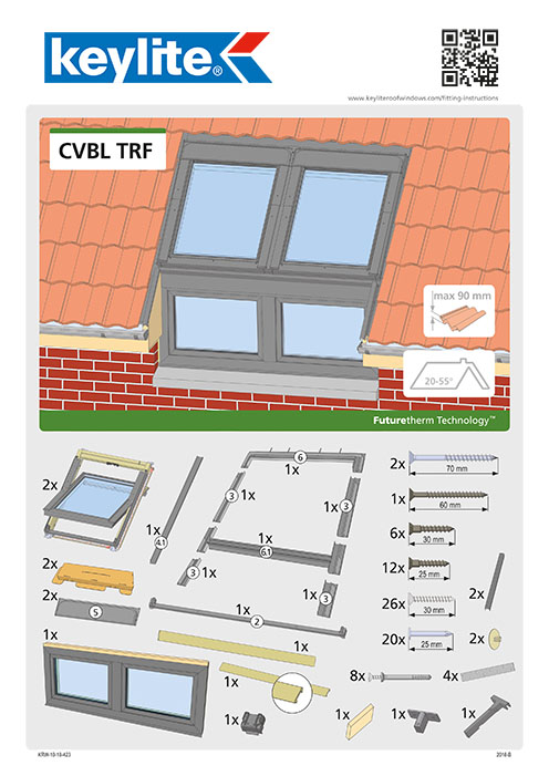 Instrukcja montażu CVBL-TRF