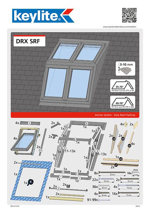 Instrukcja montażu DRX-SRF
