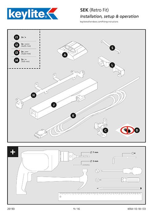 Instrukcja montażu SEK Retro