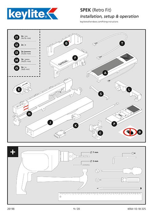 Instrukcja montażu SPEK Retro