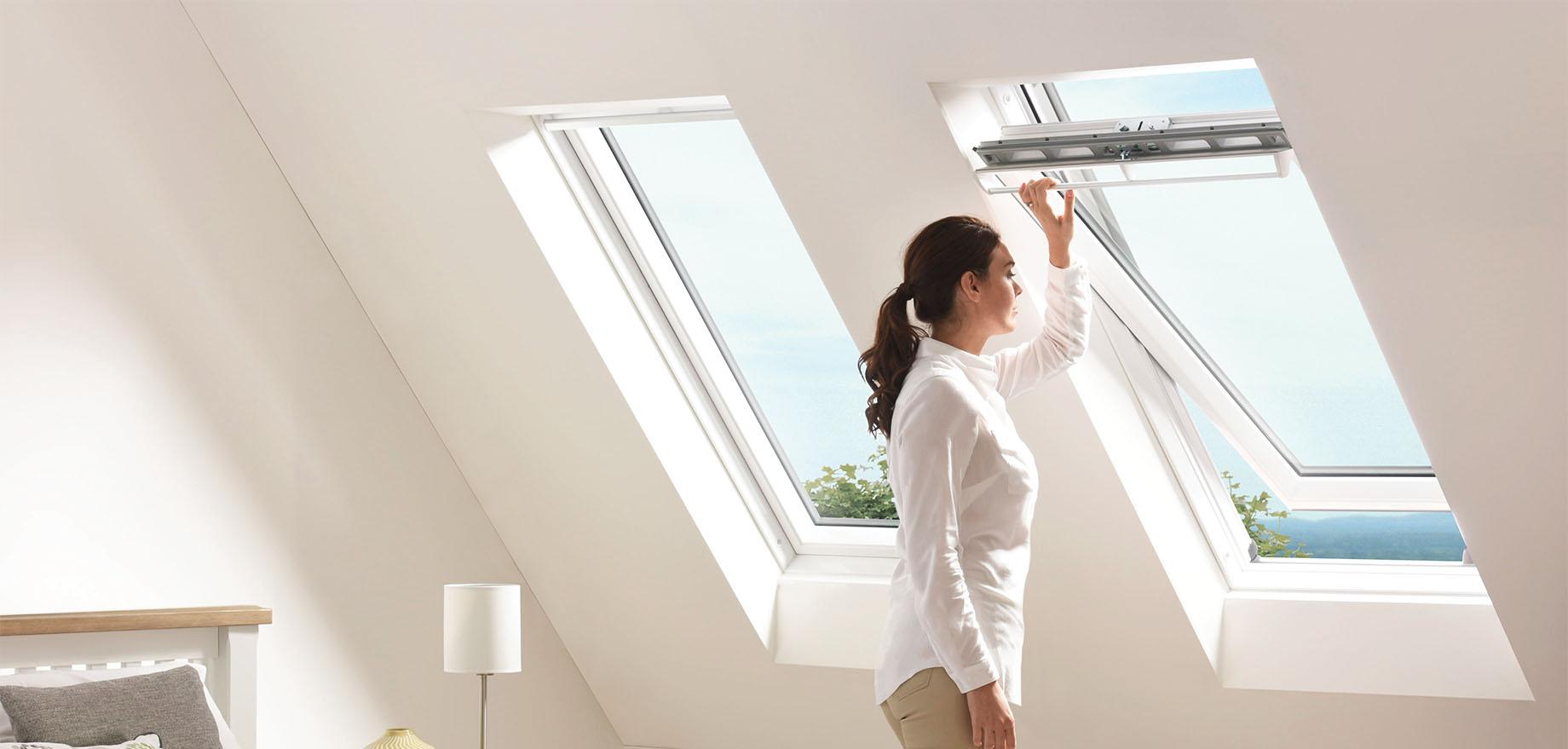 Okno dachowe PVC Polar Keylite