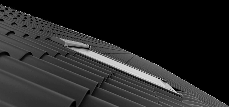 Keylite obniżony montaż w standardzie